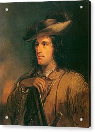 Antoine Clement The Great Hunter Acrylic Print by Alfred Jacob Miller