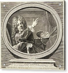 Antoine Trouvain French, 1656-1708 After Jean-baptiste Acrylic Print