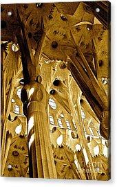 Antoni Gaudi Rythmes   Acrylic Print