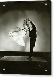 Antonio And Renee De Marco Dancing Acrylic Print by Edward Steichen