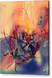 Antsy Dance Acrylic Print
