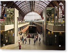 Antwerp-centraal Station Acrylic Print