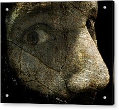Anxiety Acrylic Print by Mark Miller