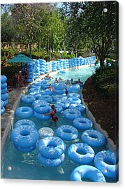 Acrylic Print featuring the photograph Any Spare Tubes by David Nicholls