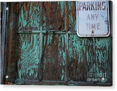 Any Time Acrylic Print by Susan Hernandez