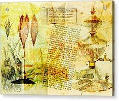 Anyone For Tea? Acrylic Print by Sarah Vernon