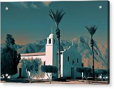 Anza Borrego Desert Church Acrylic Print