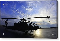 Apache Morning Acrylic Print
