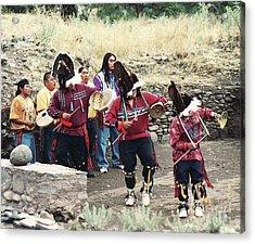 Acrylic Print featuring the photograph Apache Rain Dance by Juls Adams