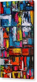 Apartment Block 2 Acrylic Print