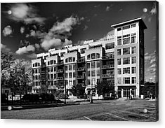 Apartment In Akron Acrylic Print by William Woide