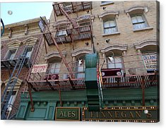 Apartment To Let At Finnegans Acrylic Print by Richard Reeve