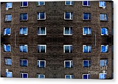 Apartments In Berlin Acrylic Print by Andy Prendy