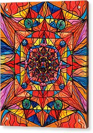 Aplomb Acrylic Print by Teal Eye  Print Store