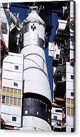 Apollo 1 Spacecraft Preparation Acrylic Print