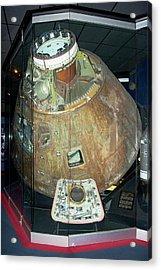 Apollo 13 Capsule. Acrylic Print