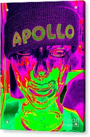 Apollo Abstract Acrylic Print by Ed Weidman