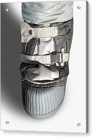 Apollo Astronaut Boot Acrylic Print by Detlev Van Ravenswaay