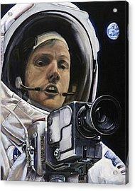 Apollo- For Mankind Acrylic Print by Simon Kregar