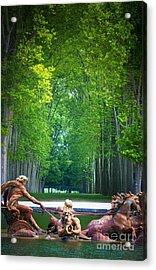 Apollo Fountain Acrylic Print by Inge Johnsson