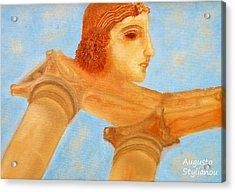 Apollo Hylates Acrylic Print by Augusta Stylianou