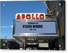 Apollo Theater Acrylic Print by Gail Starr