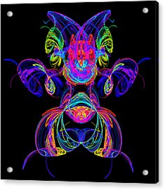 Apophysis Puppy Acrylic Print by Pat Follett