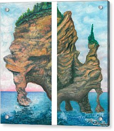 Apostle Island Acrylic Print