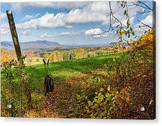 Appalachian Trail Hiker Acrylic Print