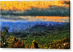 Appalachian Sunrise Acrylic Print by Dan Sproul