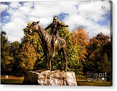 Appeal To The Great Spirit Acrylic Print by Tamyra Ayles