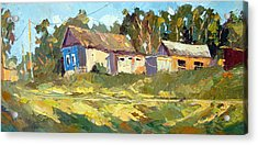 Acrylic Print featuring the painting Appeasement by Dmitry Spiros