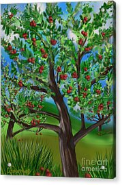 Apple Acres Acrylic Print