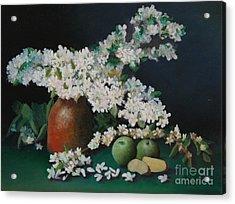 Apple Blossom Time Acrylic Print