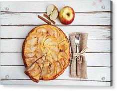 Apple Cake Acrylic Print