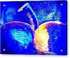Apple Cup Acrylic Print by Omaste Witkowski