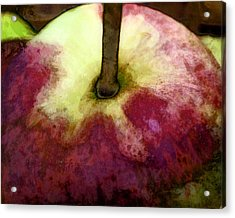 Acrylic Print featuring the painting Apple Harvest Art by John Fish