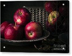Apple Harvest Acrylic Print by Edward Fielding