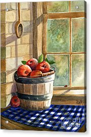 Apple Harvest Acrylic Print by Marilyn Smith