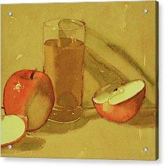Apple Juice Acrylic Print