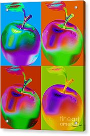 Apple Mania Acrylic Print by Eleni Mac Synodinos