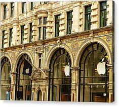 Apple On Regent Street Acrylic Print