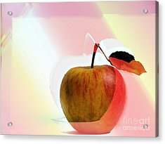 Apple Peel Acrylic Print