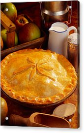 Apple Pie Acrylic Print by The Irish Image Collection