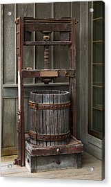 Apple Press Acrylic Print