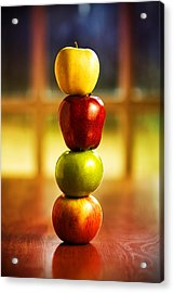 Apple Stack Acrylic Print