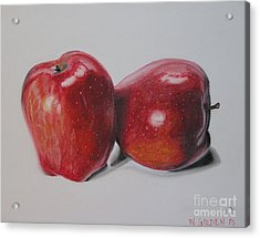 Apple Study Acrylic Print