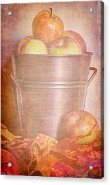 Apples Aplenty  Acrylic Print by Heidi Smith