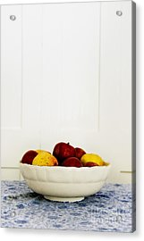 Apples Acrylic Print by Margie Hurwich