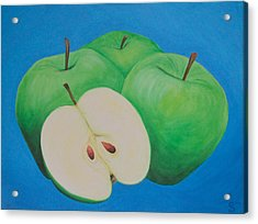 Apples Acrylic Print by Sven Fischer